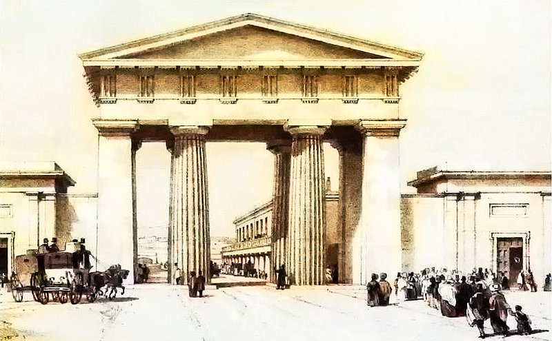 archfi - Euston's arch was demolished for a tube station!