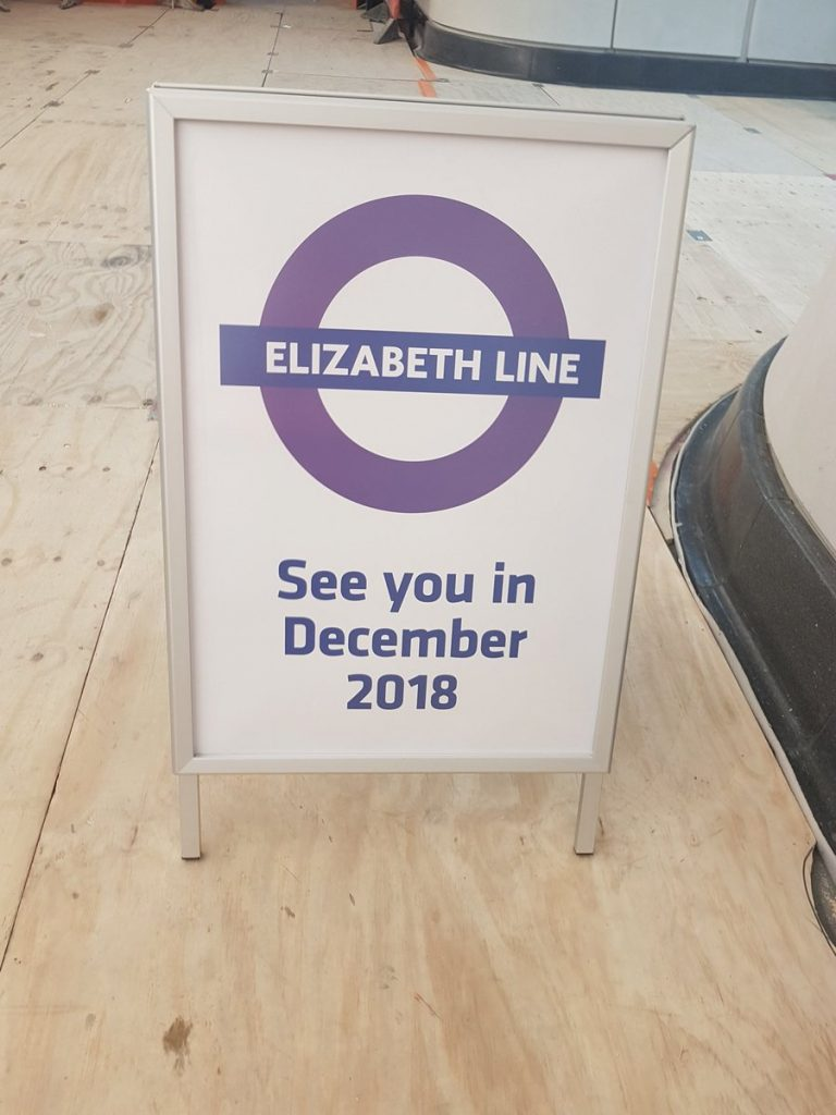 DfwSyGUXcAAlhf7 768x1024 - Crossrail's inconsistent signage