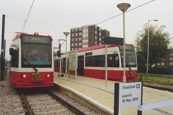 Launch 3 - Croydon Tramlink 20th Anniversary
