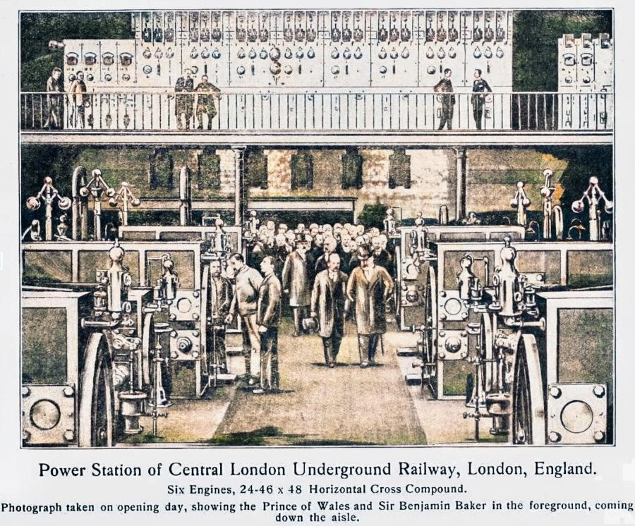 clrlyopening - Central London Railway 120th anniversary